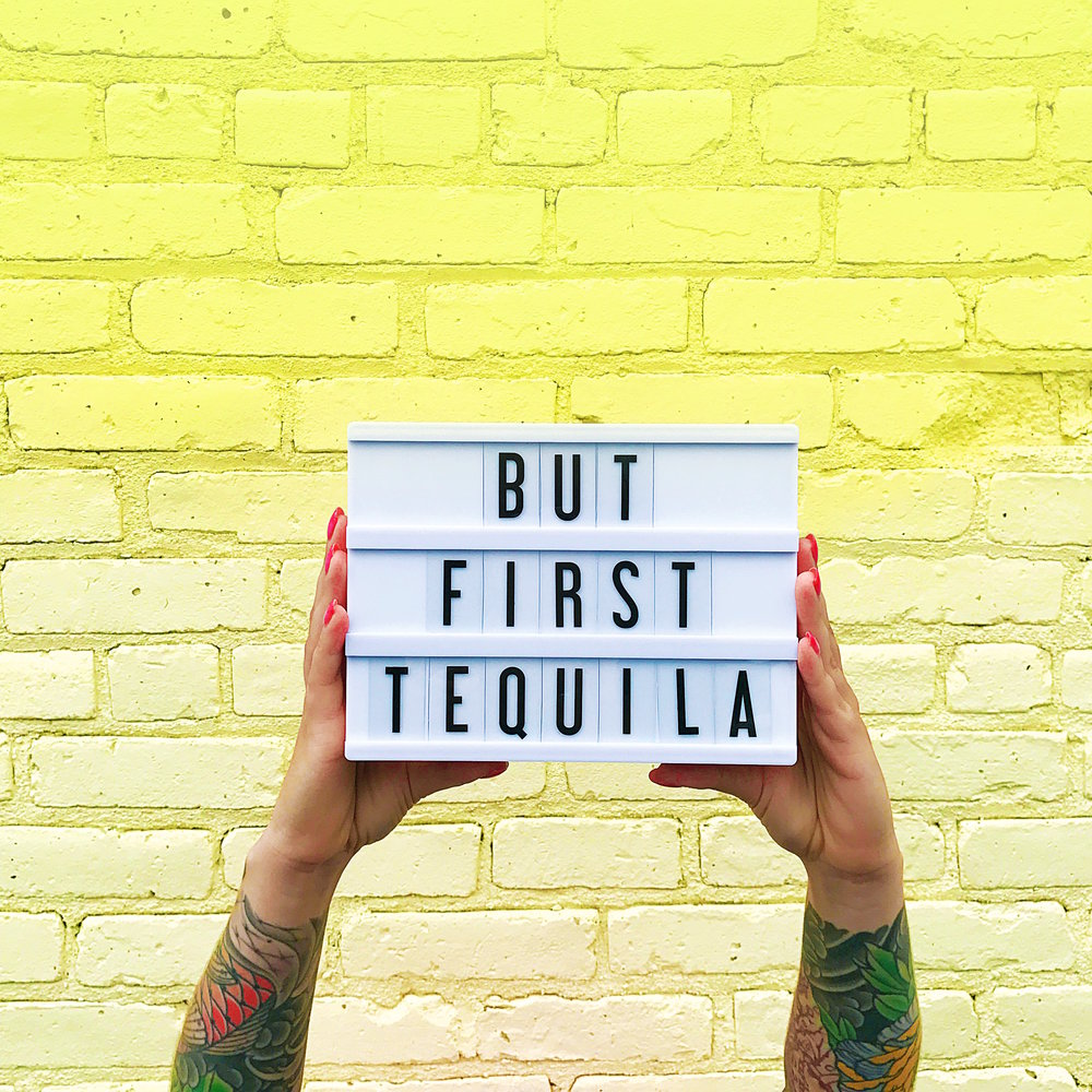 But First Tequila | Sunday Kind of Love | ARSENIC-LACE.COM