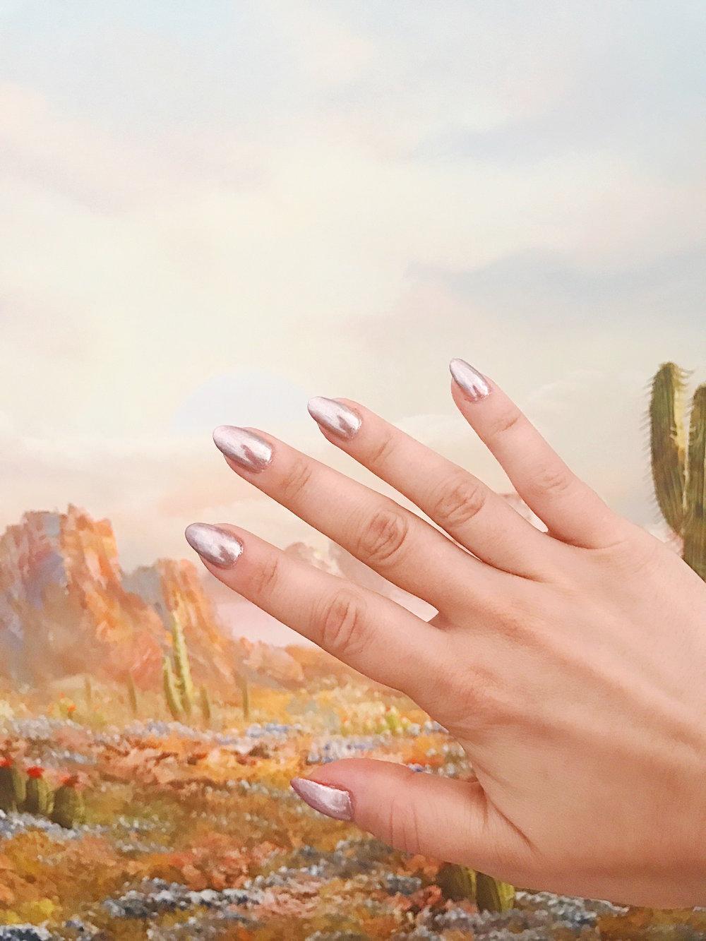 Chrome Manicure | Sunday Kind of Love | ARSENIC-LACE.COM