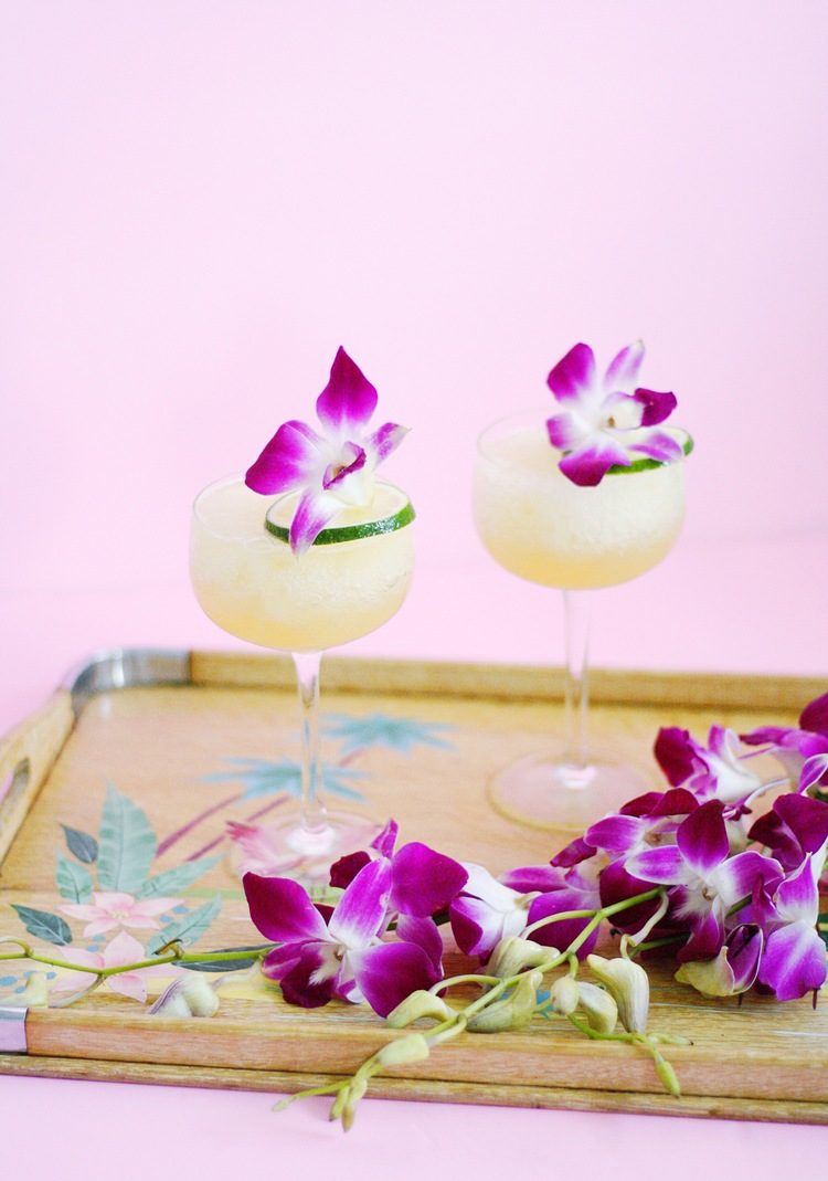Frozen Passionfruit Daiquiri | ARSENIC-LACE.COM | National Rum Day | Rum History | Rum Cocktails