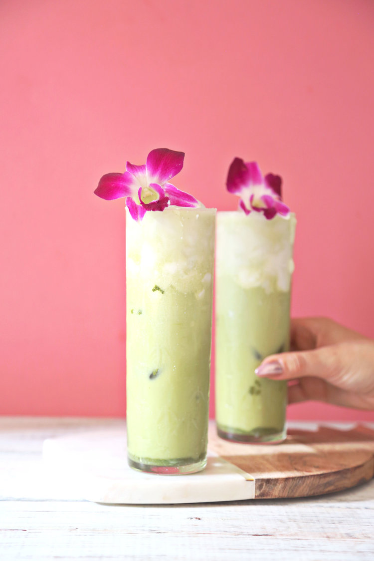 Boozy Matcha Latte | ARSENIC-LACE.COM | National Rum Day | Rum History | Rum Cocktails