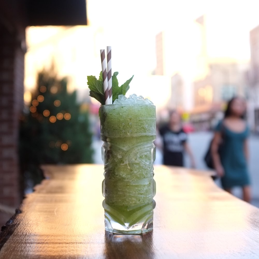 Delightful Frozen Cocktails in Jersey City | ARSENIC-LACE.COM | Summer Cocktails | Frozen Cocktails | ChicpeaJC