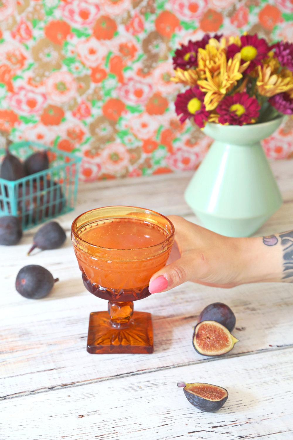 Fig + Vanilla Sidecar | ARSENIC-LACE.COM | End of Summer Cocktails | Cognac