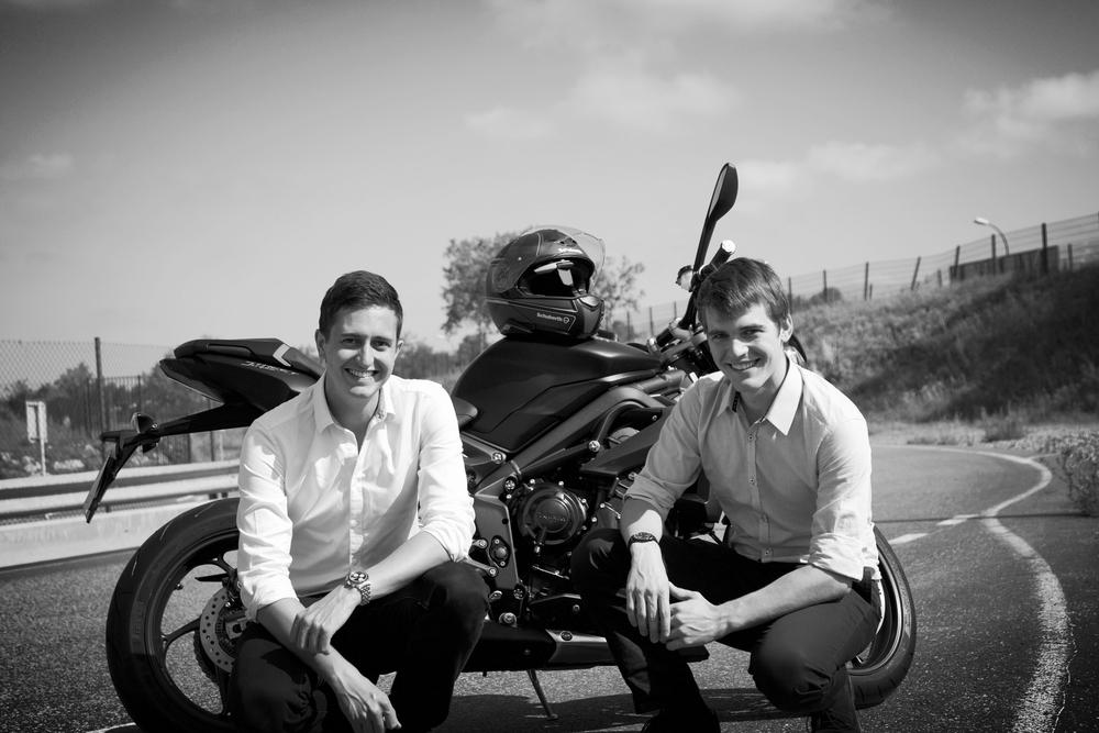 Romain Duflot & Thomas De Saintignon