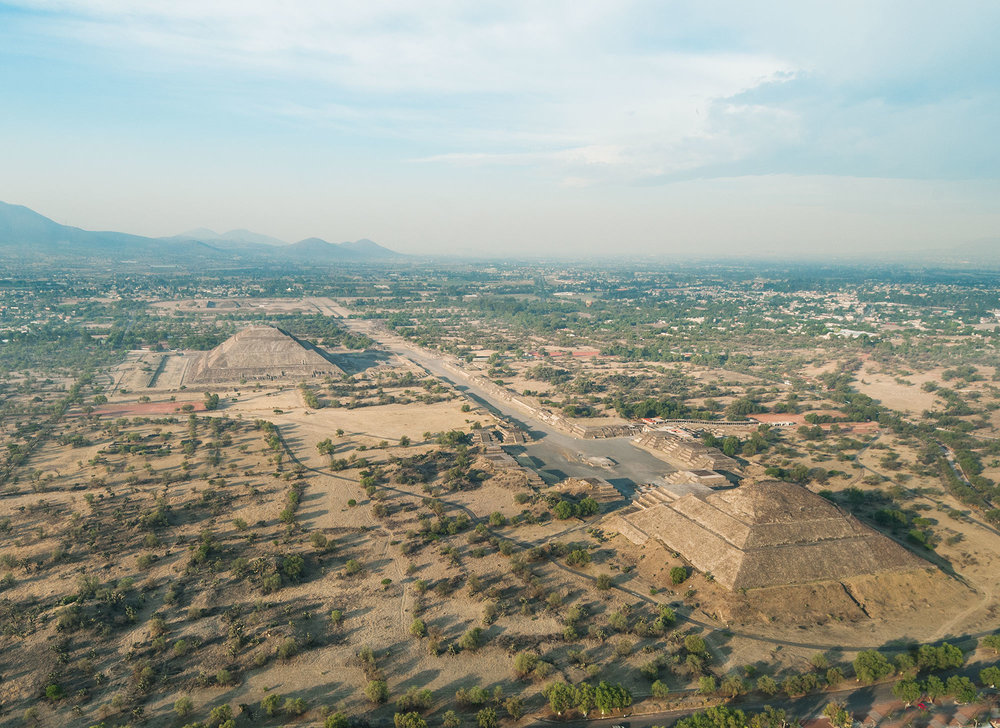 City Inspiration - Teotihuacan