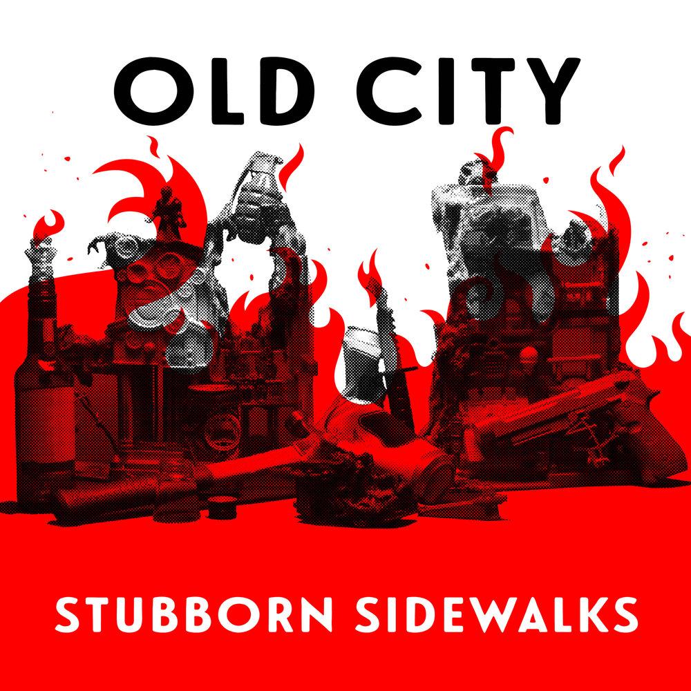 """Stubborn Sidewalks, Split 7"""" with Ohio Knife"""
