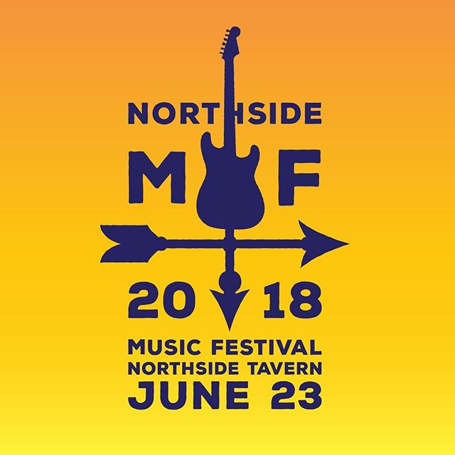Excited for this years #NMF2018 at @northsidetav one night, three stages! #cincinnati tons of bands, goods times and #Free