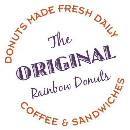 The Original Rainbow Donuts