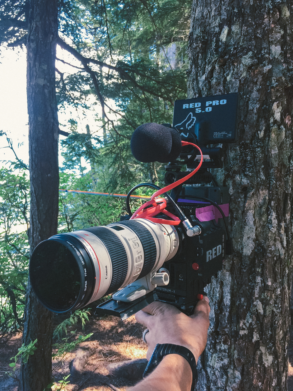 Red Epic with 70-200
