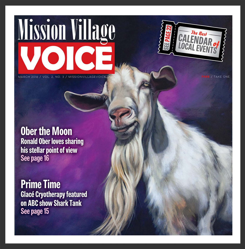 "Mission Village Voice  cover featuring ""Goat"""