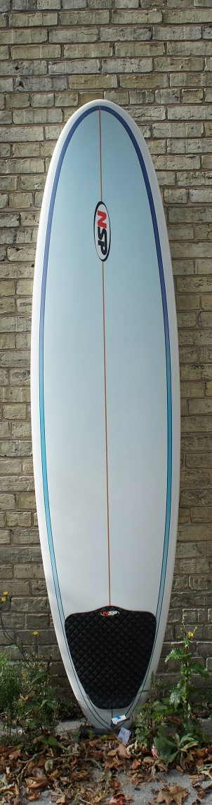 NSP Funboard 7'10 $445.00 7'10 x 22 1/16 x 3 1/16