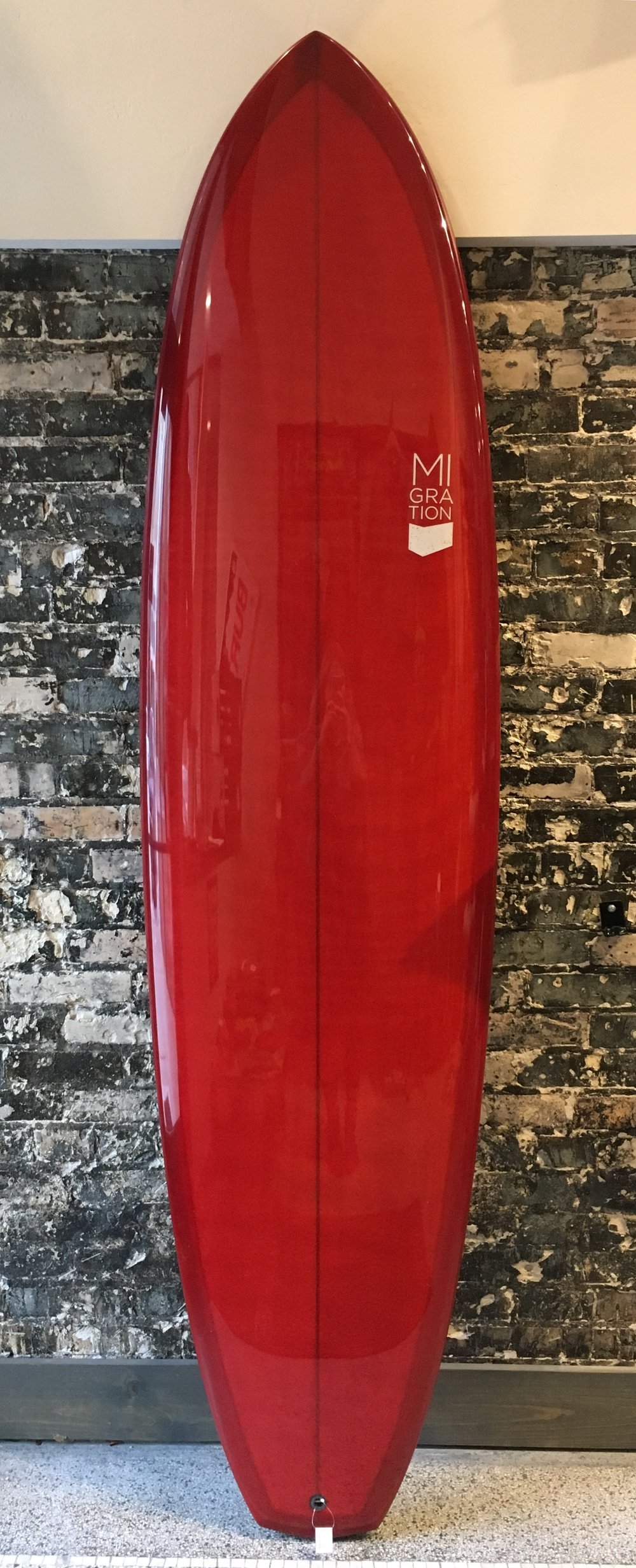 Migration Skua 7'6    -  5 fin midlength $975