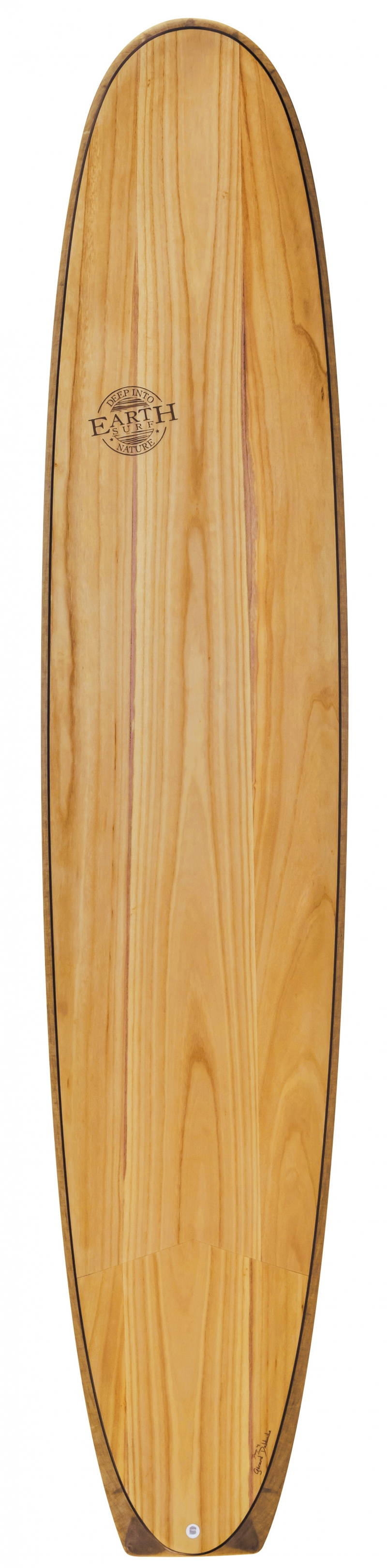 The 9'4 SixtyNiner Log is a tribute to the origins of longboarding. Styled after the solidwood boards that gave birth to what we call surfing today, with a traditional longboard outline and an extra wide square tail that facilitates planning. More natural materials: Paulownia wood & Flax fiber  Woodcore fins included  Varnish-free matte finish $999