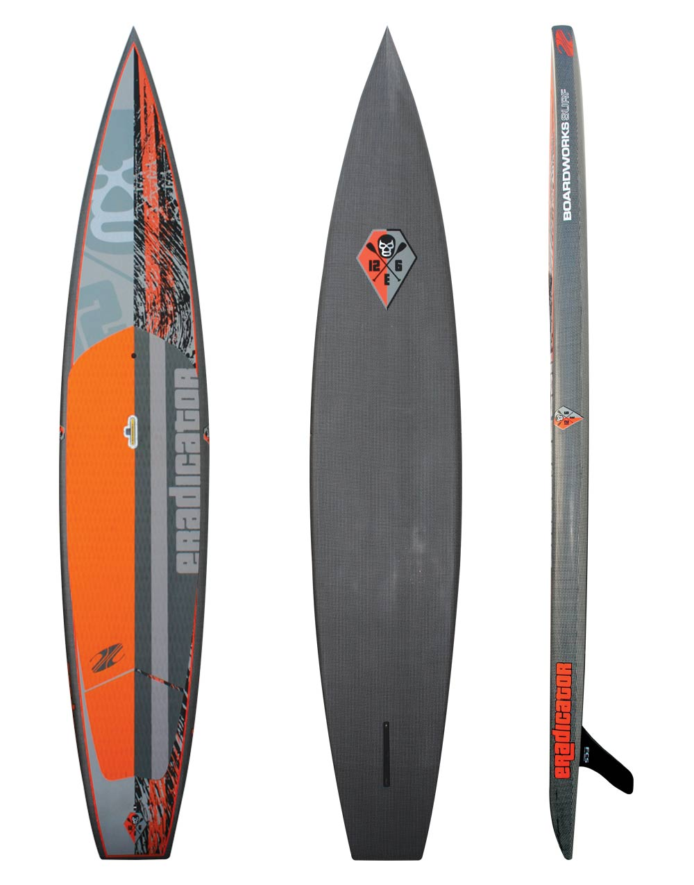 Eradicator 14' Carbon/innegra race board $2600 Sale $1900