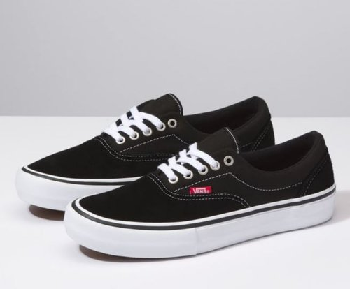3e2658740240 Vans Era Pro Black  White — EOS Surf   Outdoor Shop