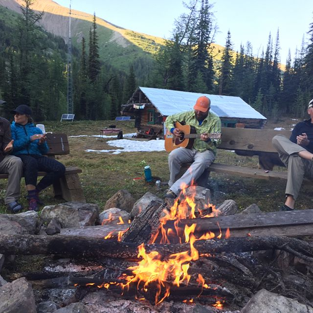Thank you to all you wonderful people who joined us for our season opener high alpine party at #dianalakelodge #backcountry #hike #zen #mybcbackcountry #unplugged #camping