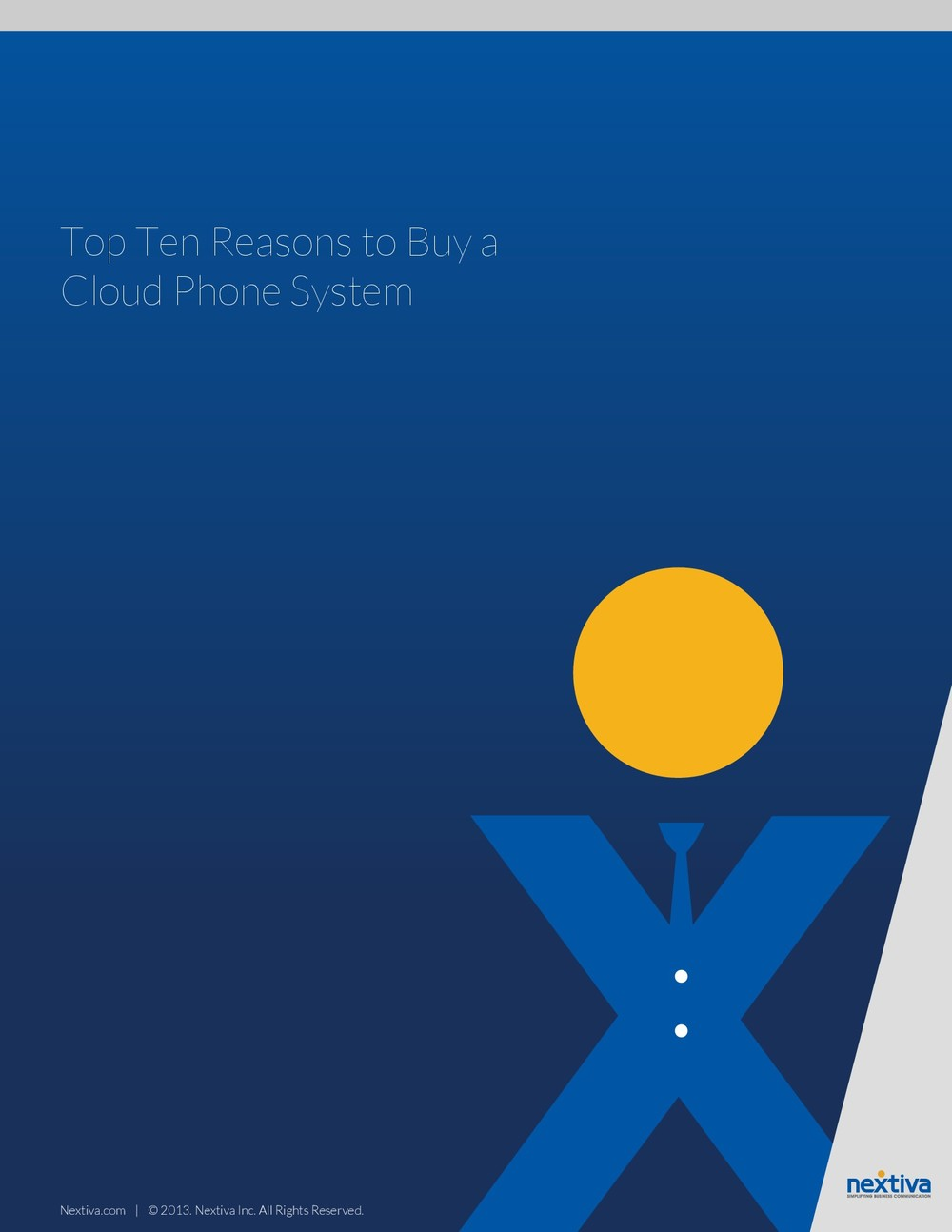 Top Ten Reasons to Buy a Cloud Phone System
