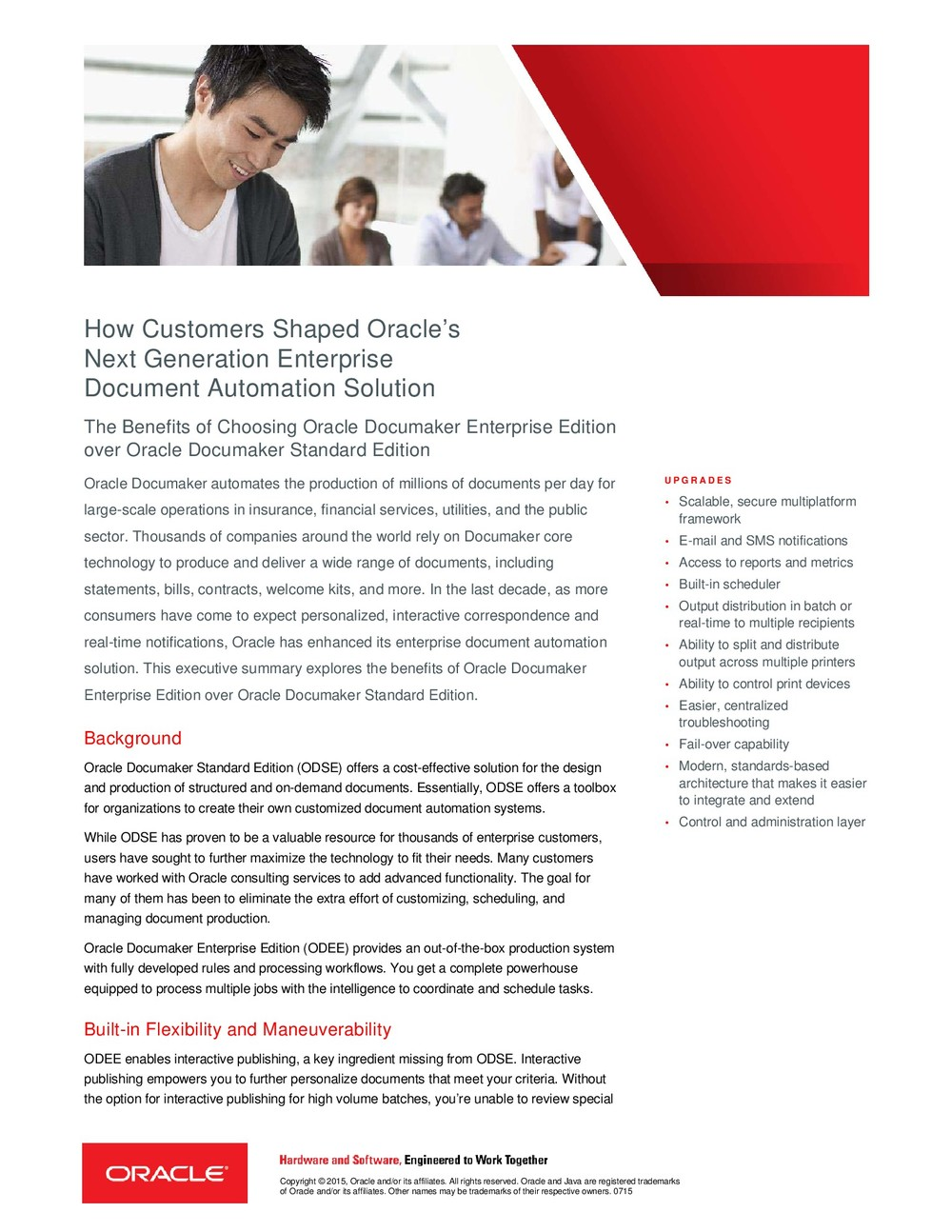 How Customers Shaped Oracle's Next Generation Enterprise Document Automation Solution