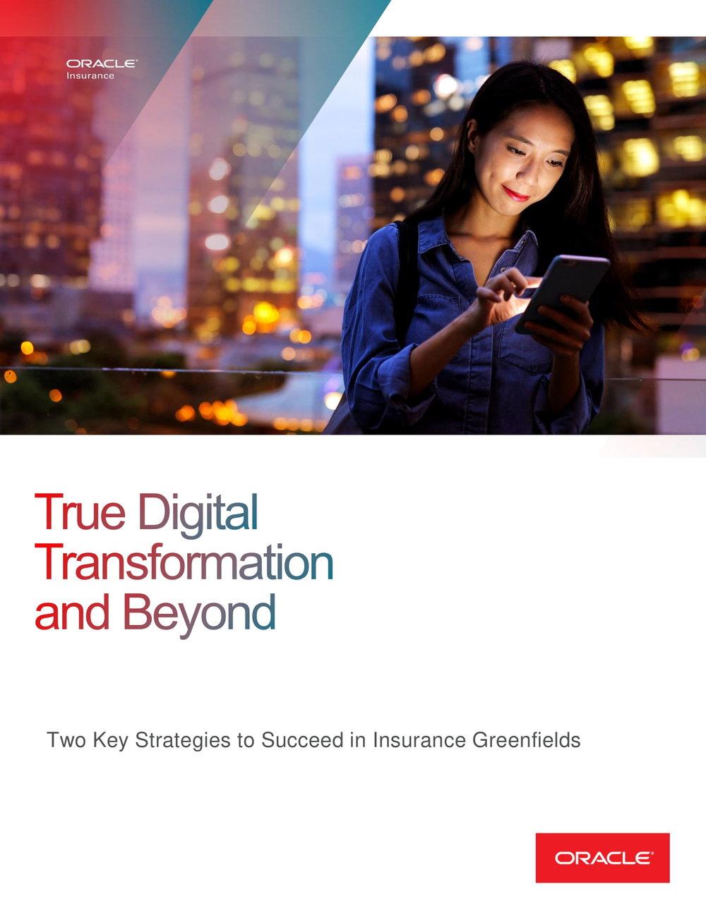 True Digital Transformation and Beyond
