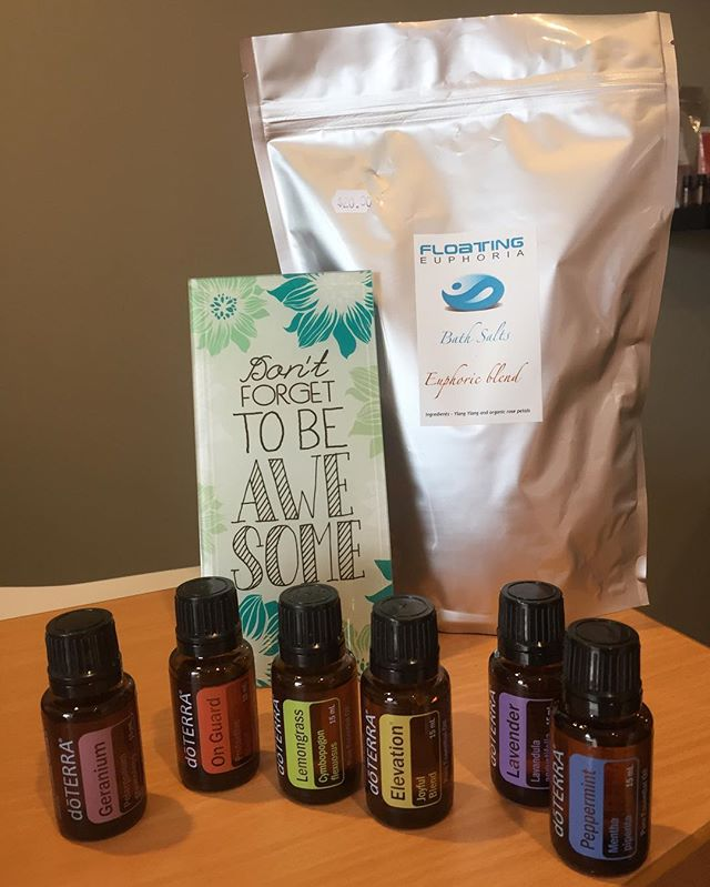 We are so happy with our new selection of doTERRA essential oils. Come down and select the right aromatherapy for yourself today, oh and don't forget to be awesome ;) #margaretriverregion #southwestaustralia #ifloatedthroughmargaretriver #creativity #floating #thisiswa #sensorydeprivation