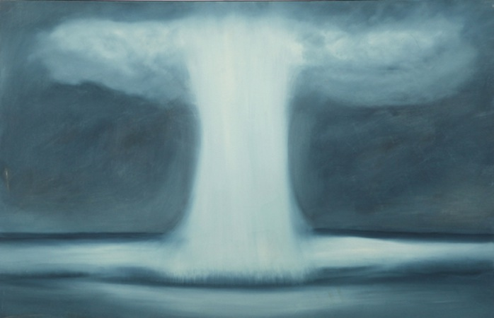 Sea Spout 40 x 60 Oil on Linen<br>SOLD