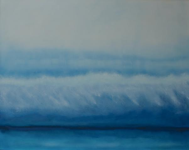 Big Blue 40 x 60 OIL ON LINEN<br>SOLD