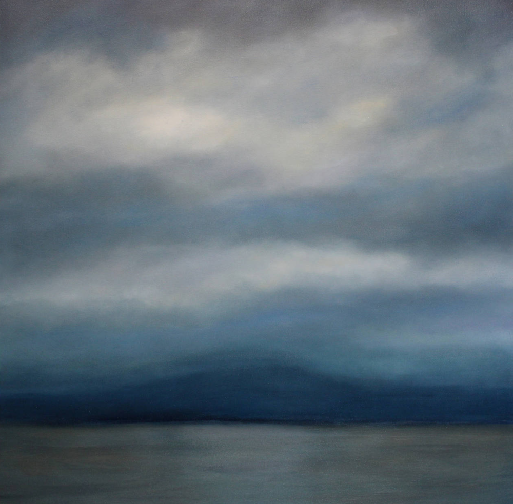 Deeper 34 x 34 Oil on Canvas