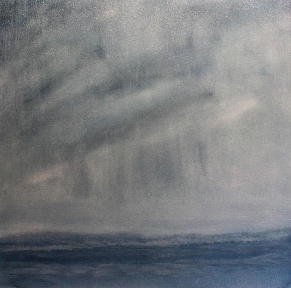 Atlantic 40 x 40 Oil on LINEN