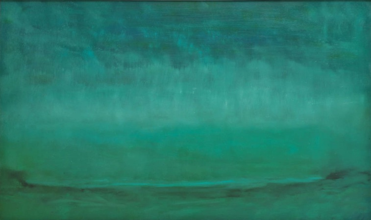 Green Eternal 36 x 60 Oil on Linen<br>SOLD