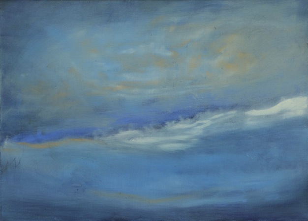 Last Wave 24 x 30 Oil on Linen<br>Sold