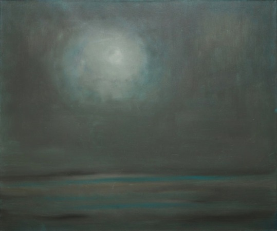 Moon Lit 40 x 48 Oil on Linen