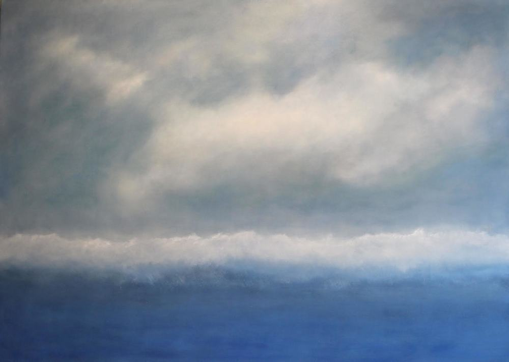 Cloud Eternal 50 x 70 OIL ON LINEN<br>SOLD