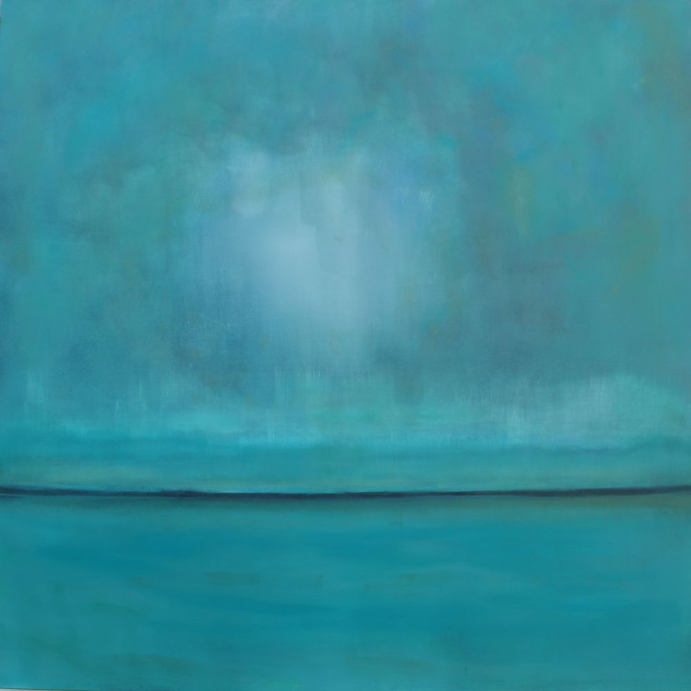 Sea of Love 48 x 48 Oil On Linen