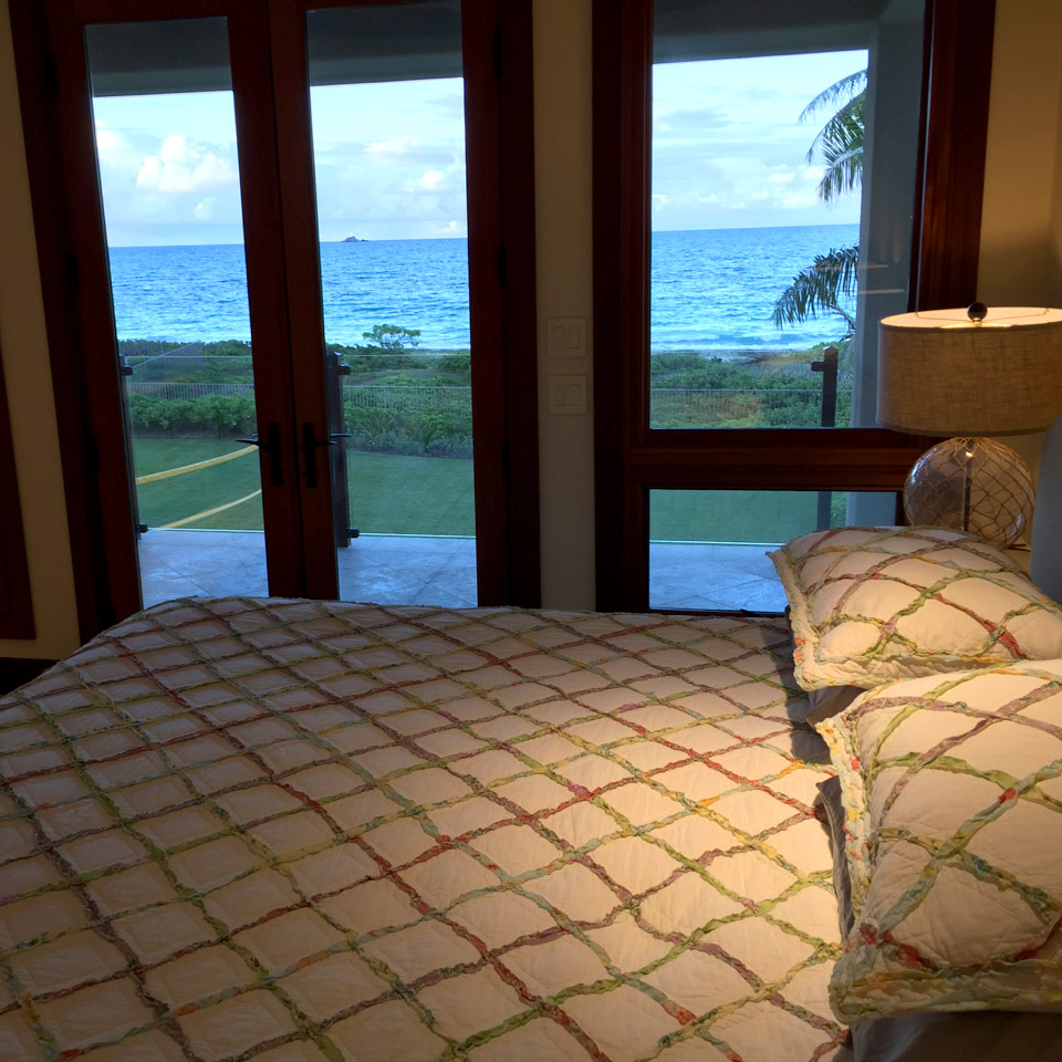 upstairs bedroom views to the ocean