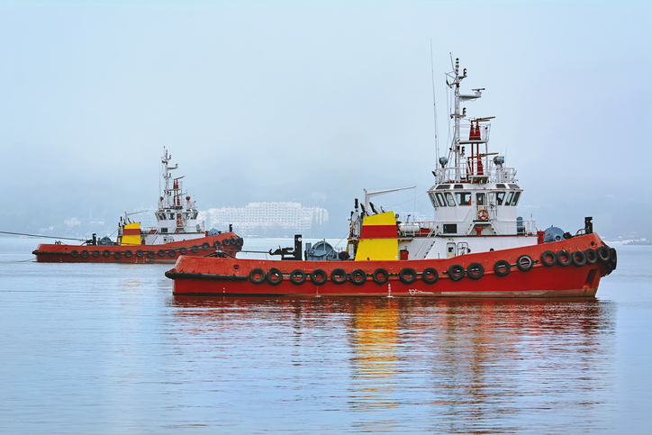 Tugboats can get into accidents quite often