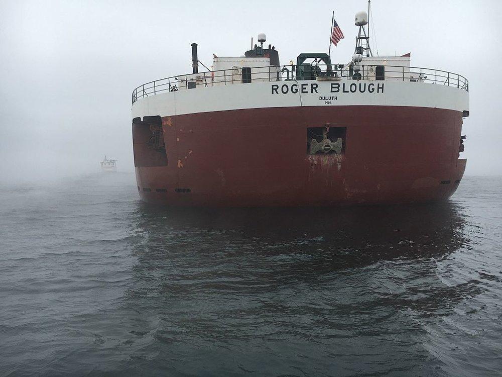 NTSB blames Lake Superior freighter.