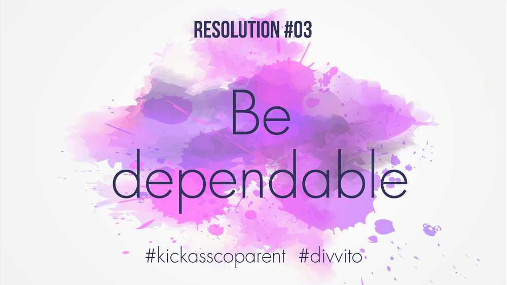Divvito #kickass co-parenting resolution 3