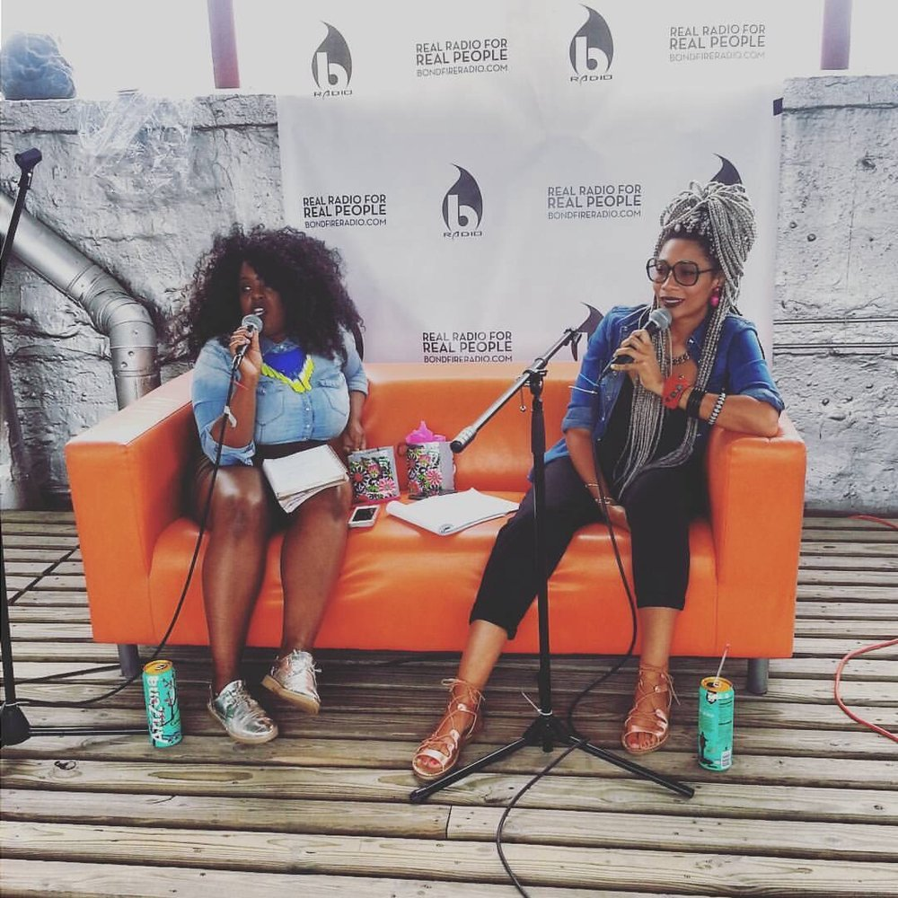 Our first live show, at the Bondfire Radio Audio Festival 2016. Listen to that episode here!