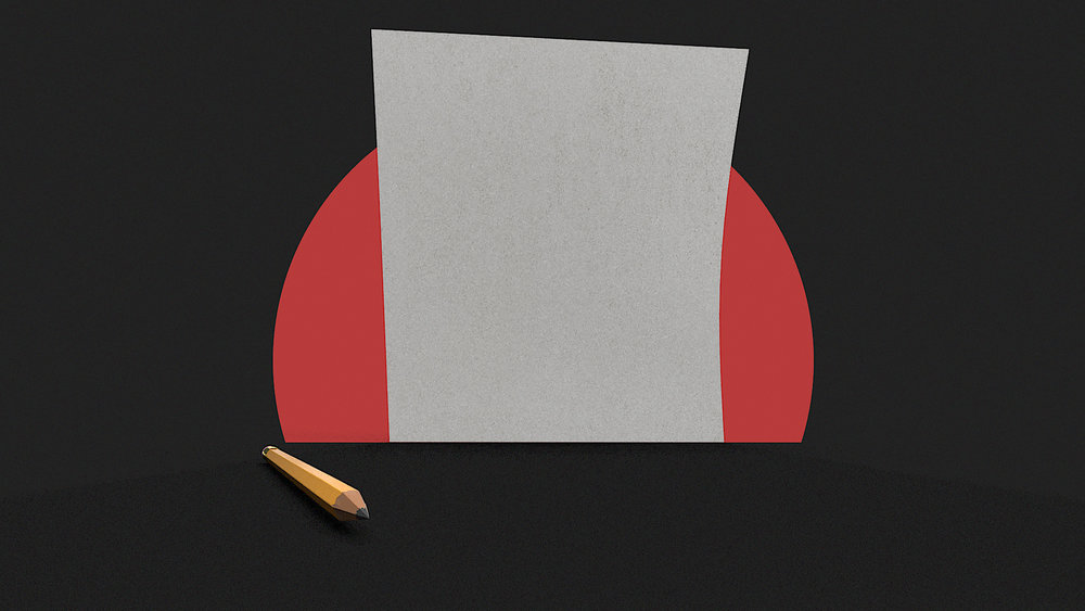 How to get over fear of the blank page