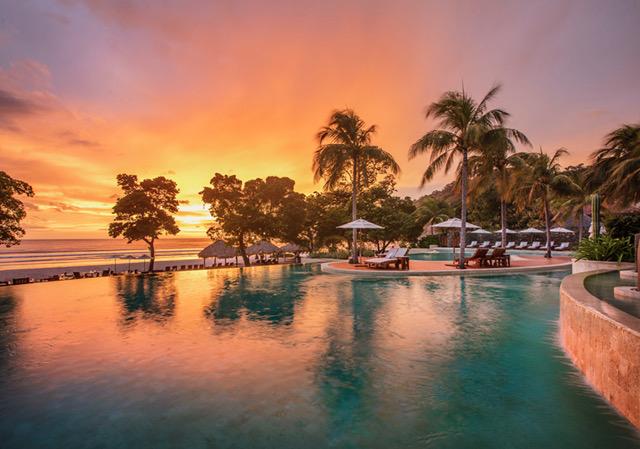 Mukul Main Pool_Sunset