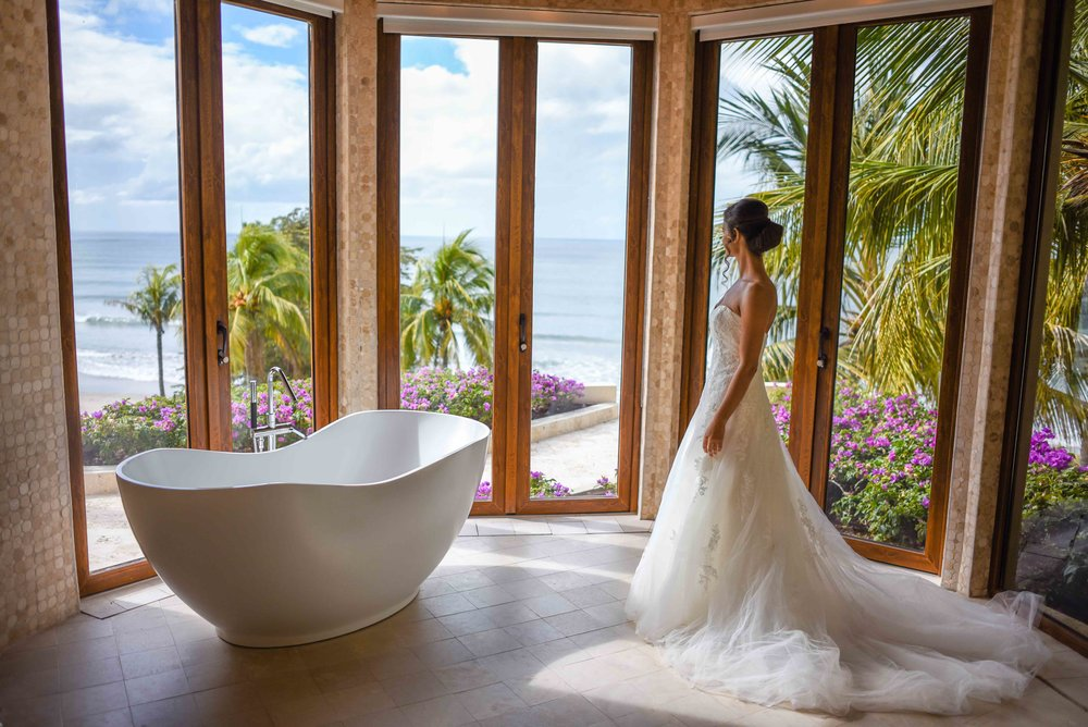 Beach Destination Wedding Central America