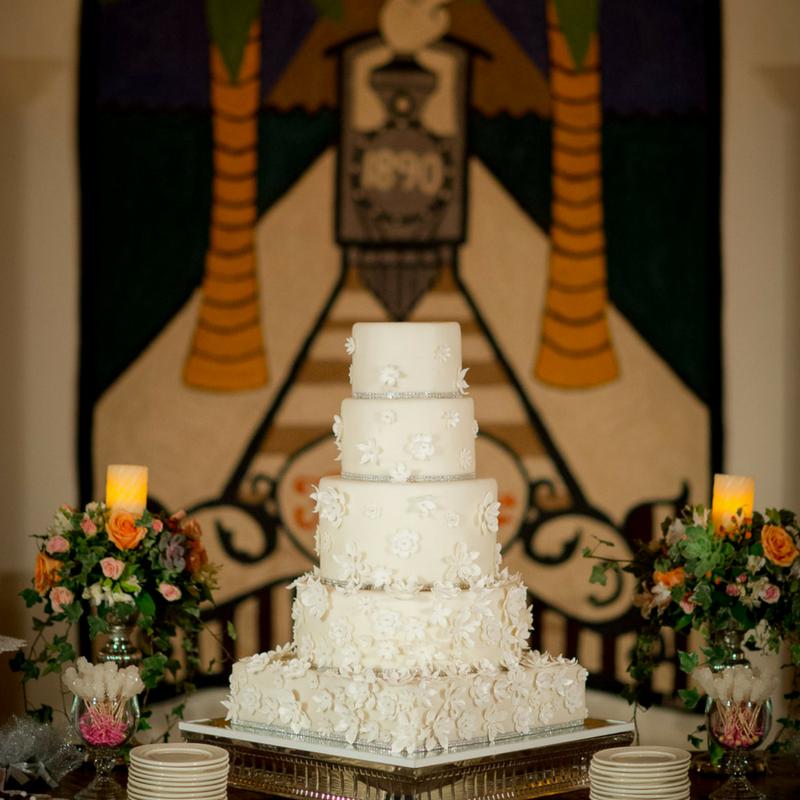 Mukul Nicaragua Wedding Cake