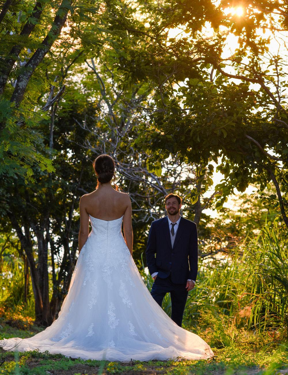 Destination Wedding Jungle First Look