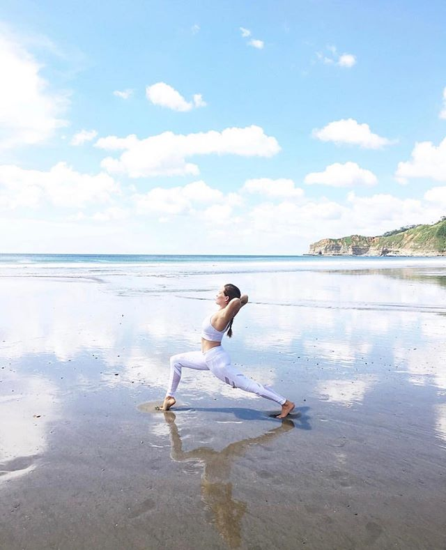 Heading into a new week with a clear mind. A perfect #AlwaysAuberge moment from Mukul regular @priti_yoga!