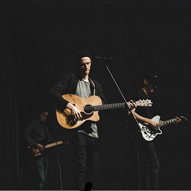 It's such a unique experience to lead people in worship. I've overcomplicated it many times but the simplicity of opening my heart to Jesus is always healing to my own soul. I love that it can make a way for others to enter that same space with Jesus. Thanks @anchorohio for worshipping with me today! So fun and so authentic!