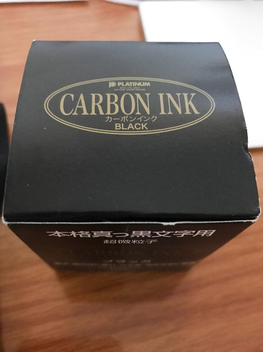 Platinum Carbon Ink Box