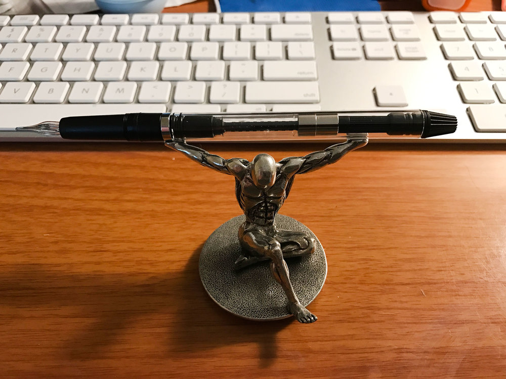 Winkpen on a Pen Holder