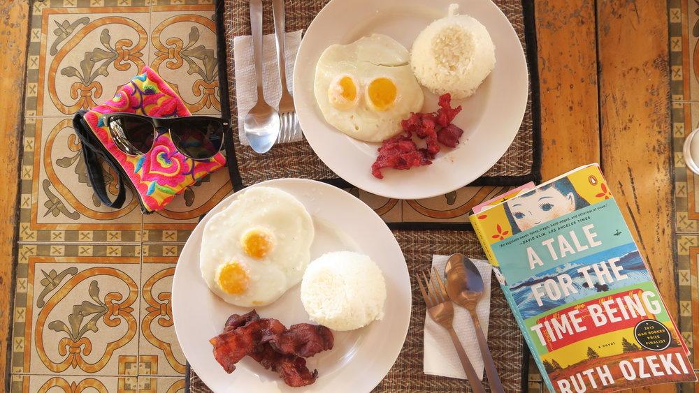 Cebu Sinulog breakfast
