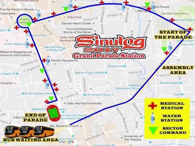 Cebu Sinulog Waterstations