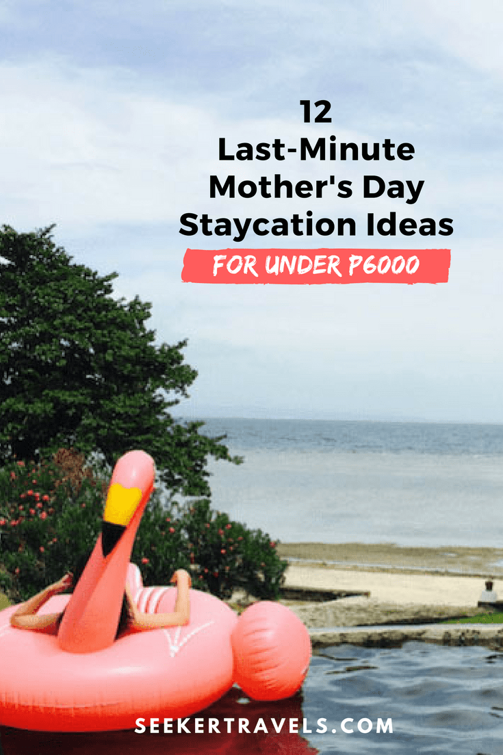 Pin this - Mother's Day Staycation Ideas | SEEKER