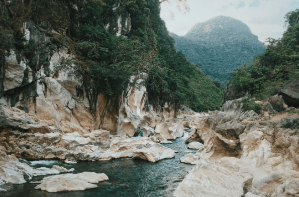 TINIPAK RIVER & CAVE  Photo by @ theanxioustraveler